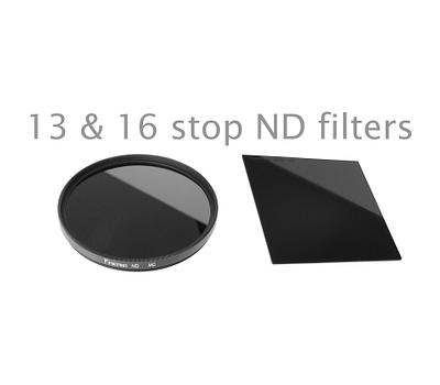 Should you be using a 13 stop Nd filter or 16 stop ND filter?