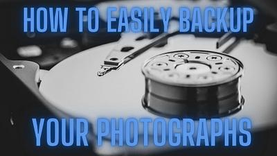 How to do a photography or pictures backup like a pro