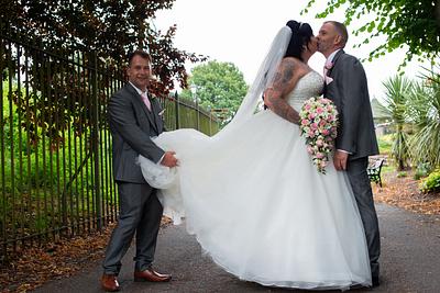 Wedding of Laurna & Chris Castle Hotel Tamworth