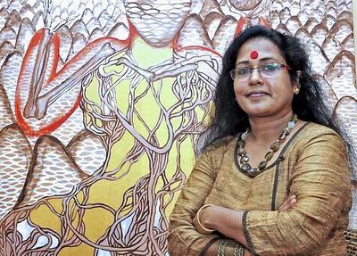 SAJITHA R. SHANKHAR: AN INDIAN ARTIST'S JOURNEY (PART I)
