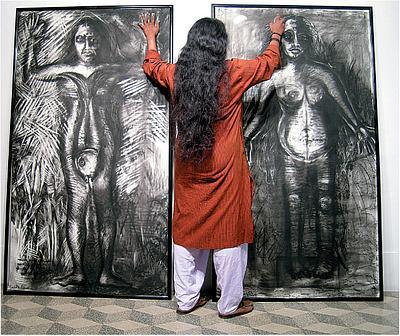 SAJITHA R. SHANKHAR: AN INDIAN ARTIST'S JOURNEY (PART II)