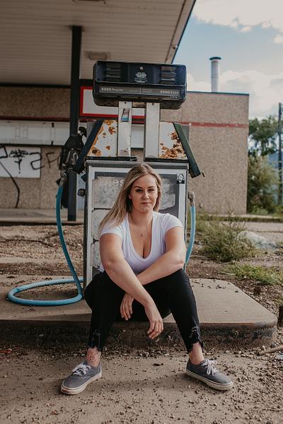 Kristen Dyck - Gas Station