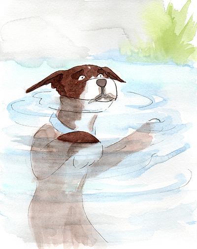 Bronson & Daisy 2- Lake
