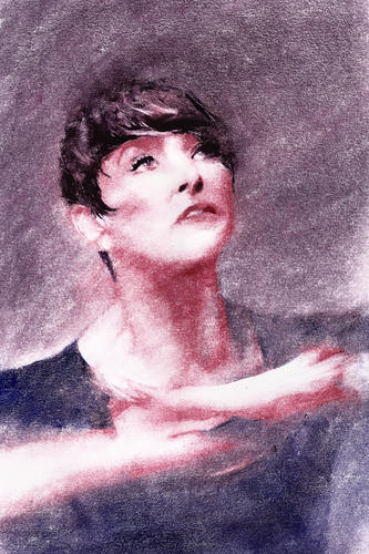 Former Prima Ballerina Stephanie Herman_Portrait