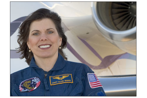 Astronaut Mary Ellen Weber