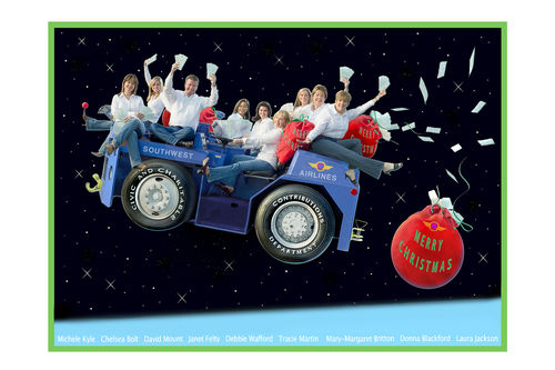 Southwest Airlines Christmas Card