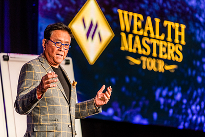 Robert Kiyosaki - Wealth Masters Tour, London