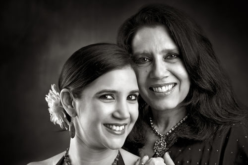 Nanika Joseph with her daughter, Rea.