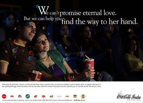 Client: Coca-cola. Agency: McCann Erickson