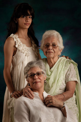 Rita and Mallika Arya. And Rita's Mom, Mrs. Chowdhry.