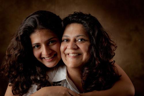 Shalini Minocha-Beri and Kokila Mohini Beri.