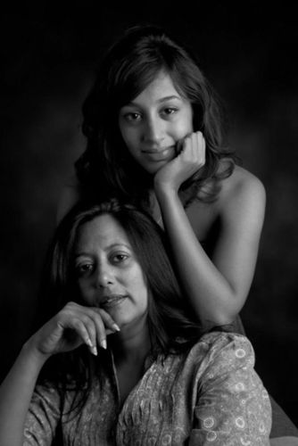Heena Handa and her daughter, Chavi Dutt.