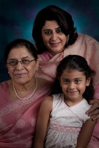 Jayati and Anya Rajgarhia. And Jayati's Mom, Mrs. Kandhari.