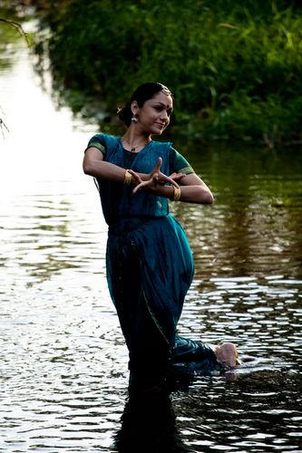 Rama Vaidyanathan. Bharat Natyam exponent.