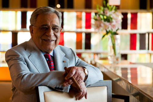 Mr. P.R.S. Oberoi, Chairman, Oberoi Hotels.