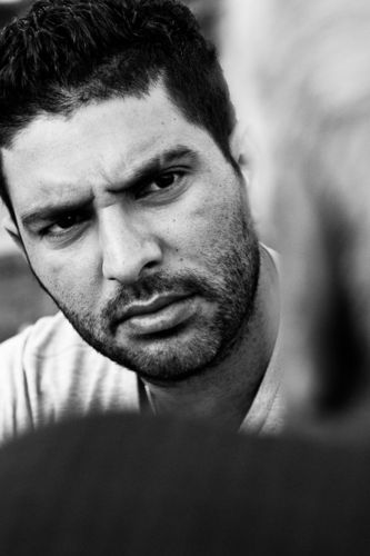 Yuvraj Singh, Cricketer.