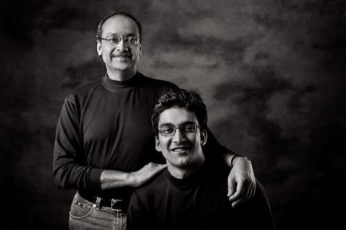 Arvind & Aditya Singhal, Entrepreneurs. New Delhi.