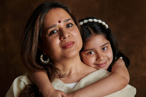 Manjari Chaturvedi, the mystical Sufi Kathak dancer, with her daughter, Naazo Mehra