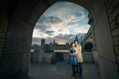 Katie + Steven Pre-Wedding Shoot