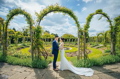 Cerise + Philip Wedding Day