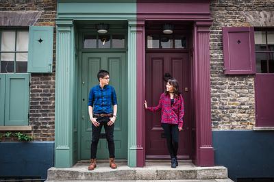 Linh + YongLik Engagement Shoot