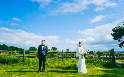 Kate + Johnny Wedding Day