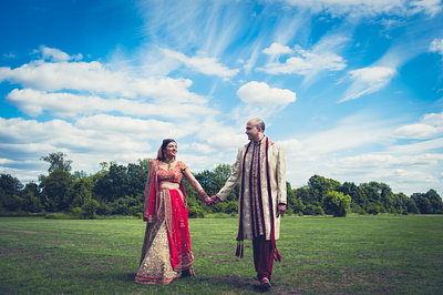 Ameeta & Krishn Wedding Day