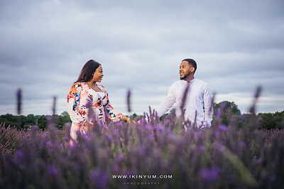 Adesua + Babajide Pre-Wedding Shoot