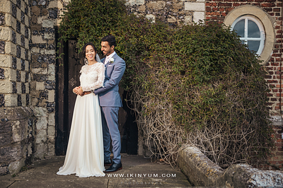Hall Place Wedding - Kathy + Kamran