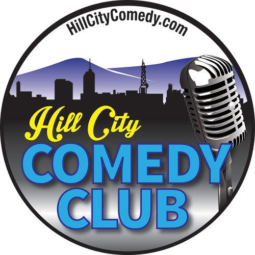 Hill City Comedy Club original logo design