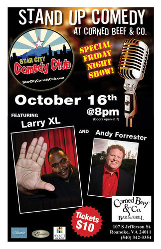 Star City Comedy Club Poster