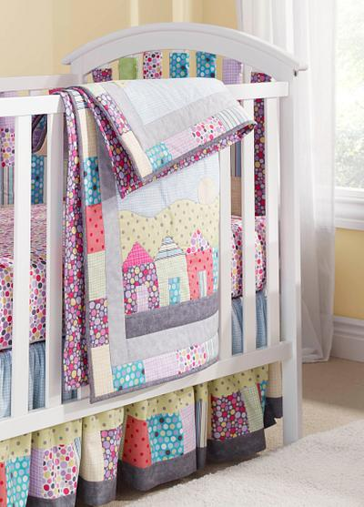 Baby Nursery Quilt Set