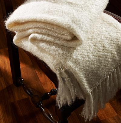 Blanket on Chair