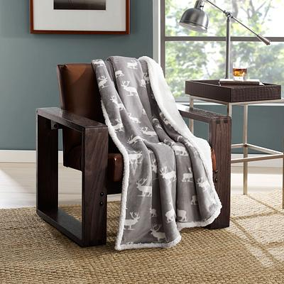 Blanket Throw over Chair