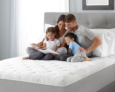Family on Mattress