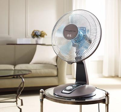 Fan in Room Setting