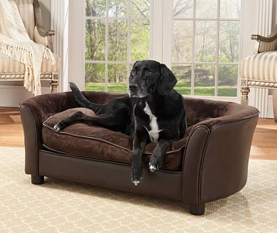 Luxury Dog Bed Chocolate