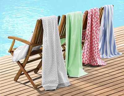 Towels on Beach Chairs