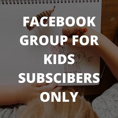 Kids Facebook Community