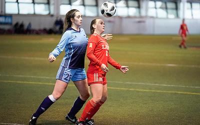 Soccer Féminin vs UQAM, 19 janvier 2020