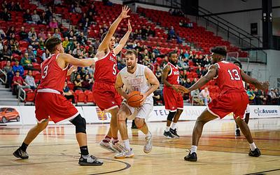 Basketball Masculin vs McGill, 11 janvier 2020