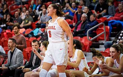 Basketball Féminin vs McGill, 11 janvier 2020
