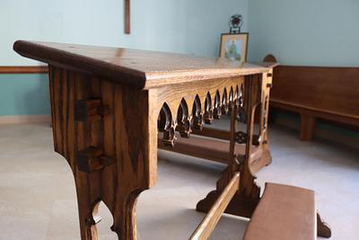Gothic Revival Portable Communion Rail