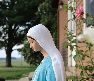 Our Lady of Grace Statue Restoration