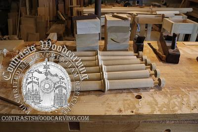 Gothic Revival Spindle Making Part I