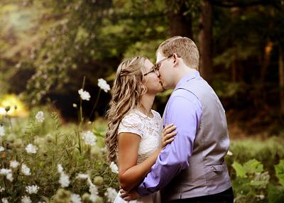 David & Lizzie | Summer Engagement | Mill Creek Park | Lanterman's Mill | The Lily Pond | Youngstown Wedding Photographer