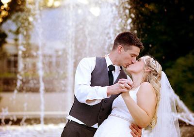 Kelli & Brian | Summer Wedding | St. Christine Parish | Fellows Riverside Gardens | Mill Creek Park | Youngstown Wedding Photographer