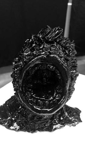 Nonstop, resin sculpture, 2016