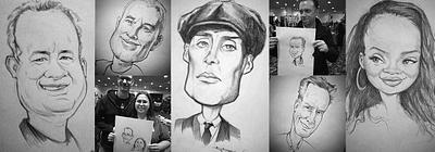 Caricature Drawing at Comic-Con