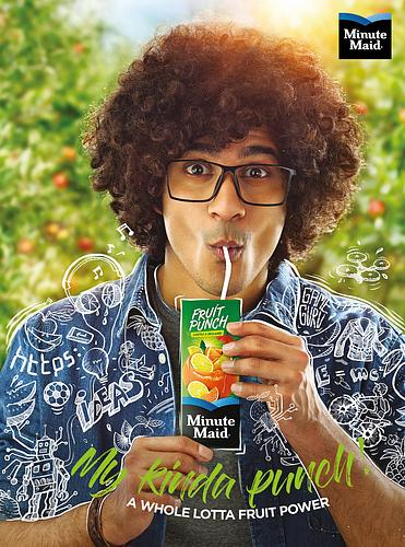 Fruit Punch Poster_W14xH19 inch_Minute Maid